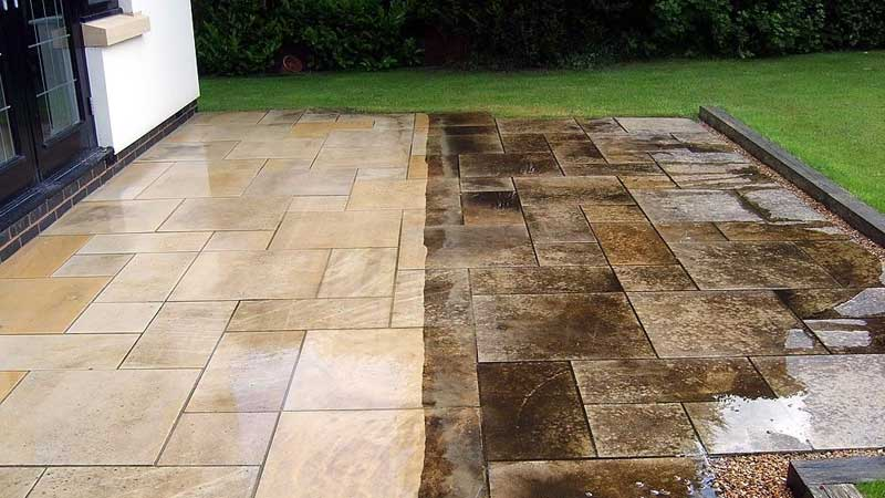 Patio Cleaning Stirling Falkirk & Clackmannanshire