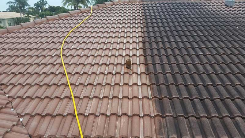 Roof Cleaning Stirling Falkirk & Clackmannanshire
